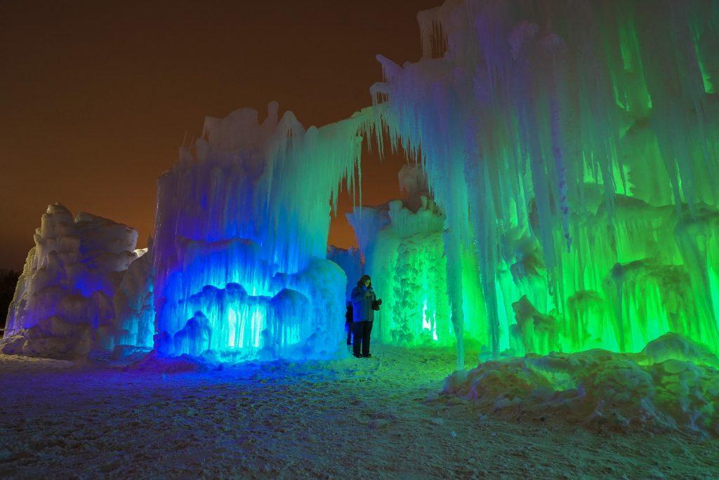 Ice Castles Lake Geneva