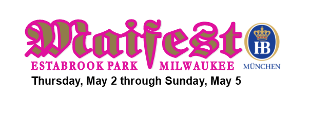 Milwaukee Maifest at Estabrook Park Beer Garden