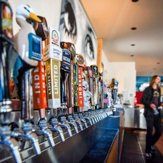 Milwaukee Craft Beer taps