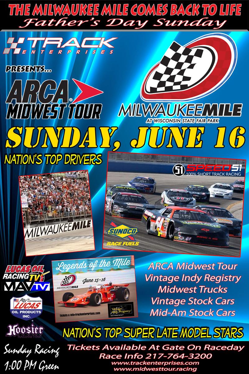 ARCA Races at the Milwaukee Mile