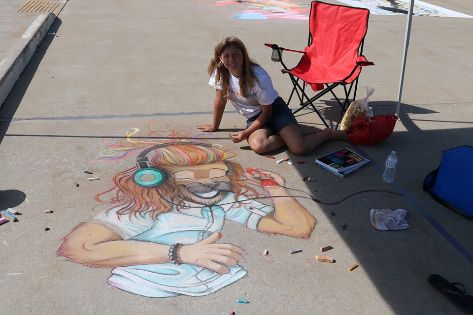 Art & Chalk Fest, West Bend