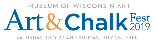 Art & Chalk Fest at the Museum of Wisconsin Art