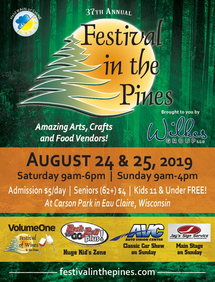 Eau Claire Festival in the Pines at Carson Park