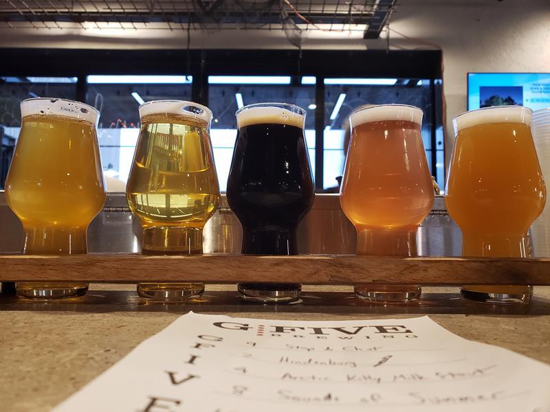G5 Brewery sampler