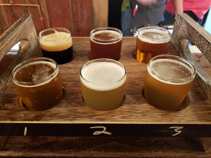 Duesterbeck's beer sampler