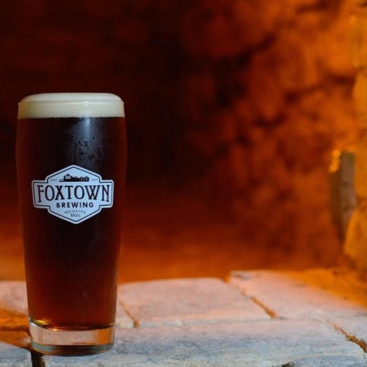Foxtown Brewing along Highway 167 in Mequon