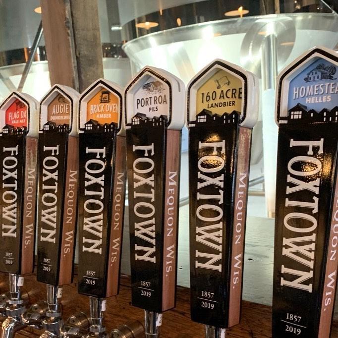 Foxtown Brewing taps (Foxtown photo)