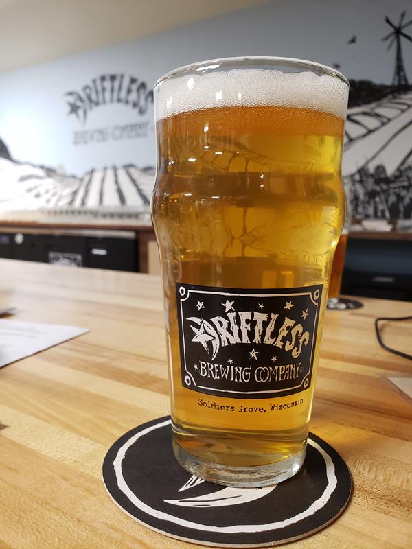 Driftless Brewing Company pint