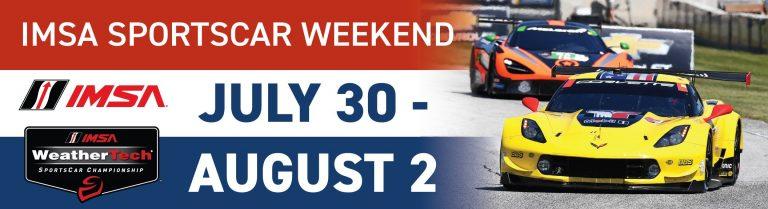 IMSA Sportscar Weekend at Road America