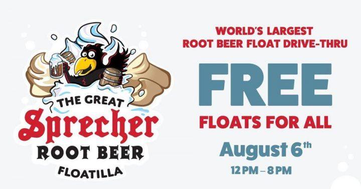 Sprecher Root Beer Float Drive-Thru