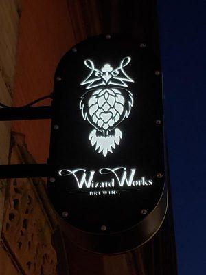 Wizard Works Brewing on Buffalo Street in Milwaukee's Historic Third Ward