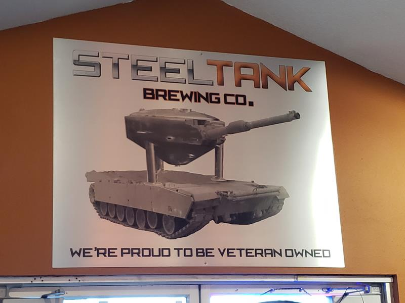 Veteran-owned SteelTank Brewing Company, Oconomowoc