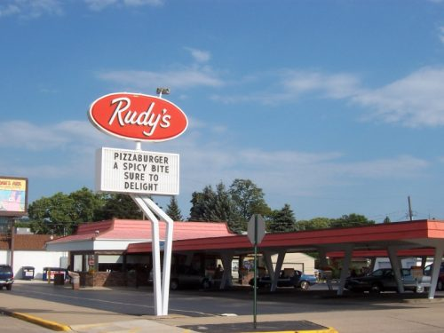 Rudy's Drive-In along Highway 16 in La Crosse