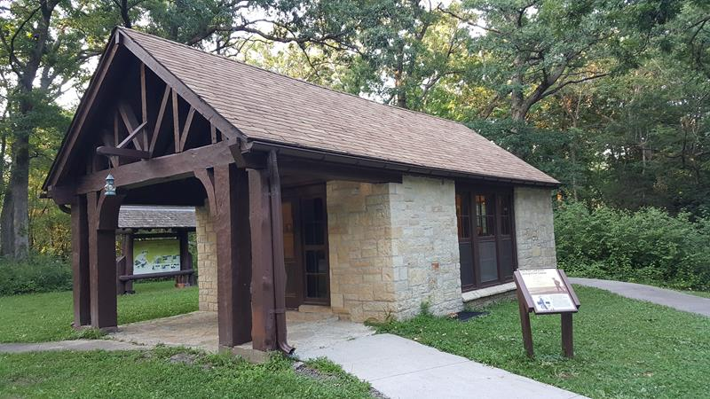 Paul Lawrence Interpretive Center at Wyalusing State Park