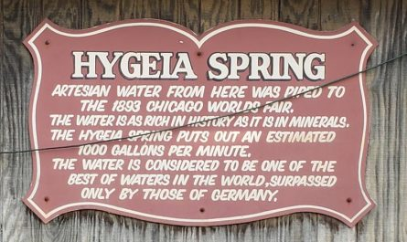 Hygeia Spring, part of Waukesha's colorful water history and the Great Pipeline Battle of 1893