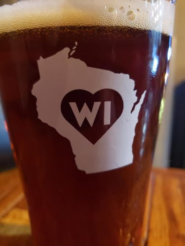 They love Wisconsin at Badger State Brewing Company, Green Bay