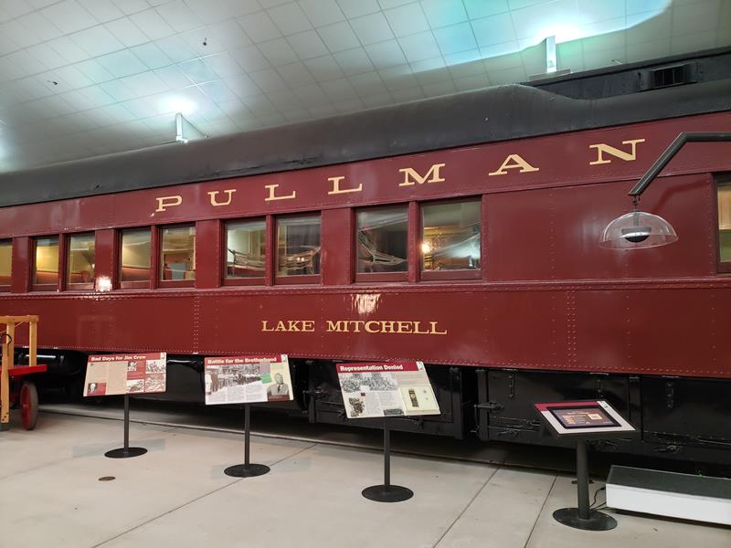 Pullman Car at the National Railroad Museum, Green Bay, Wisconsin