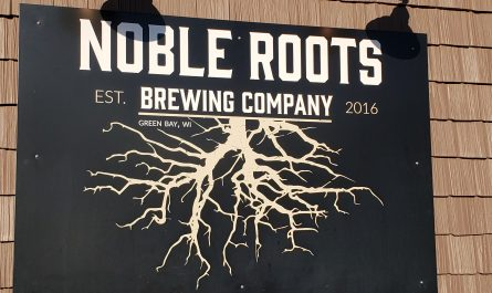 Noble Roots Brewing Company, Green Bay, Wisconsin