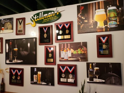Plenty of awards at Stillmank Brewing Company, Green Bay, Wisconsin