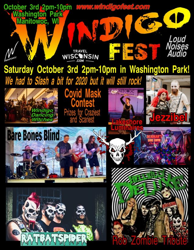 Windigo Fest 2020 in Manitowoc, Wisconsin, happens October 2nd and 3rd, 2020
