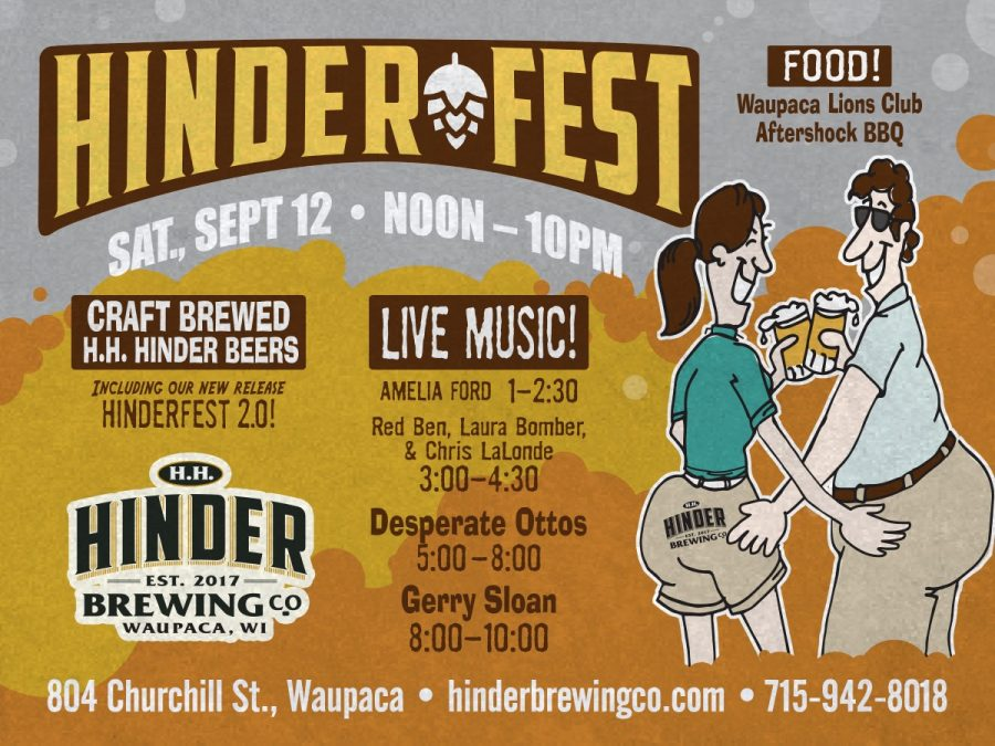 Hinder Fest 2020 at Hinder Brewing Company, September 12, 2020 in Waupaca, Wisconsin