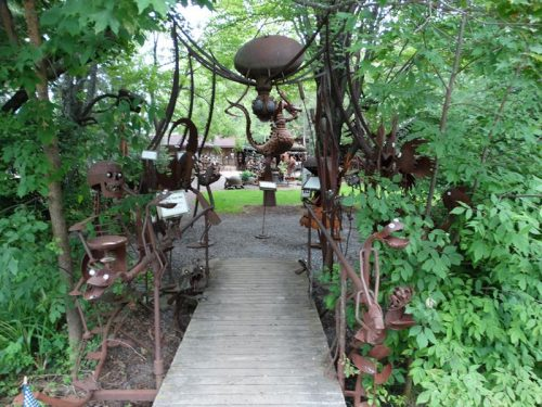 Entrance to Jurustic Park, Marshfield, Wisconsin