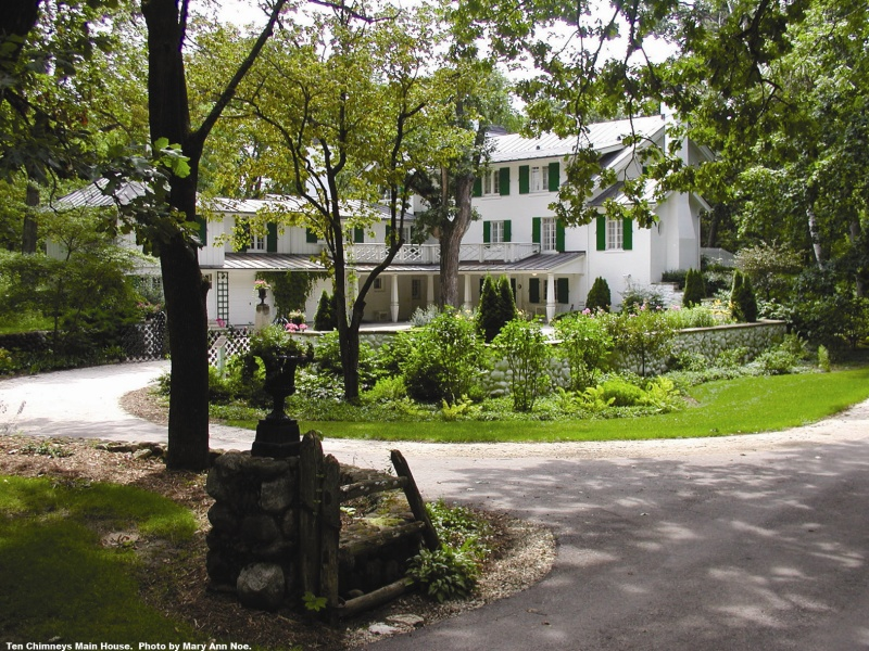 Ten Chimneys National Historic Landmark