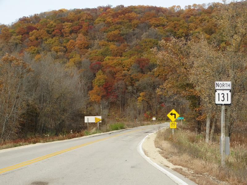 Highway 131 northbound start