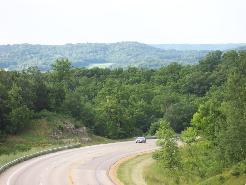 Highway 23 looking at the Wyoming Valley