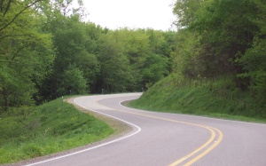 Wisconsin Highway 60 along the Lower Wisconsin River Road
