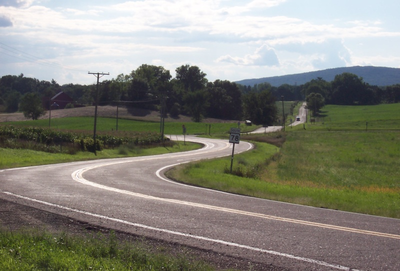 Highway 78 in Sauk County