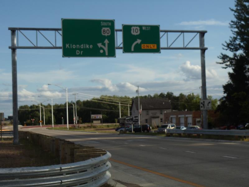 Highway 80 south begins