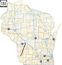 Highway 131 map