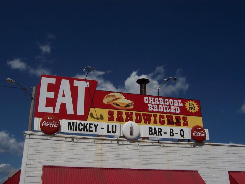Mickey-Lu Bar-B-Q, Marinette, along U.S. 41