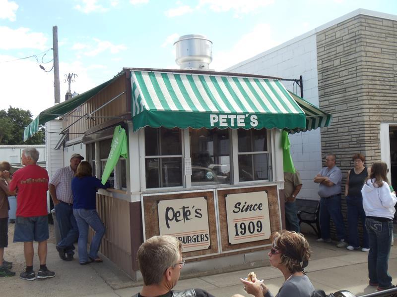 Pete's Hamburger Stand, Prairie du Chien