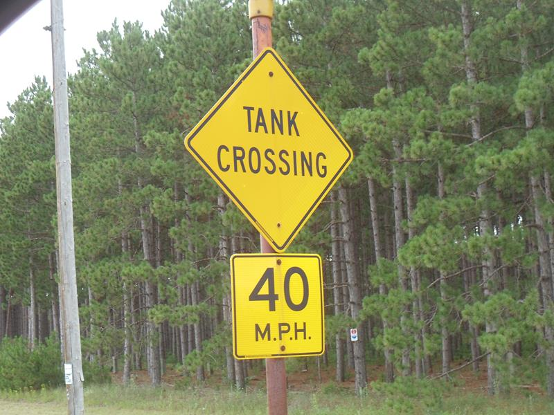HIghway 21 Tank Crossing