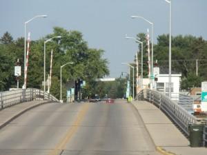 116 bridge over the Wolf River