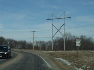 Highway 134 northbound begins