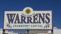 Warrens Cranberry Festival sign