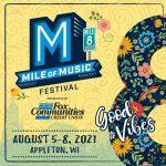 Wisconsin Weekend: Mile of Music, Appleton