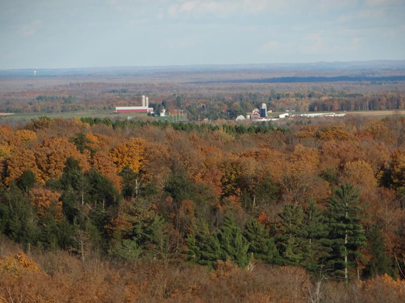 Timms Hill, Wisconsin's highest natural point