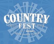 Country Fest in Cadott logo