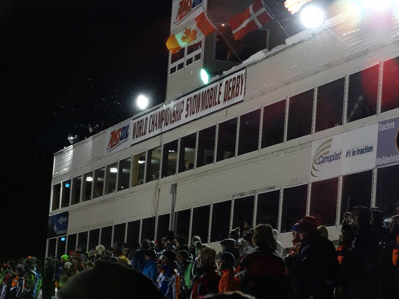 Eagle River Snowmobile Derby boxes