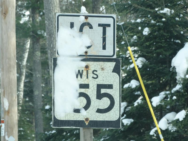 Highway 155 Jct sign