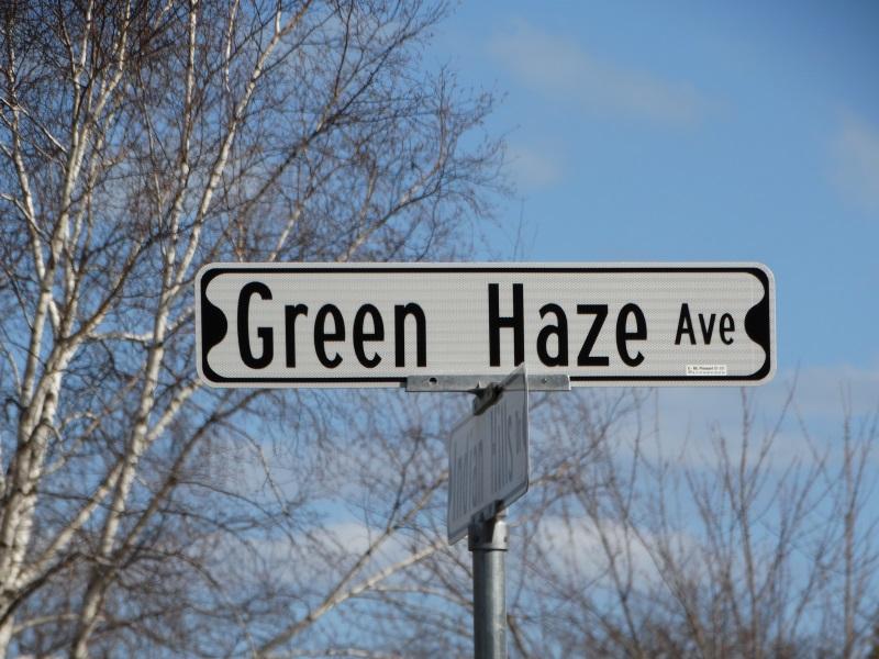 Quirky Street Names in Wisconsin - like Green Haze Avenue