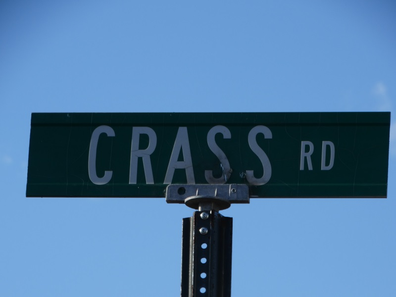 Quirky Street Names in Wisconsin - like Crass Road