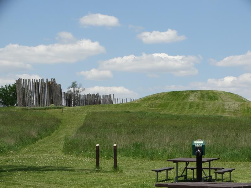 Aztalan State Park Mounds