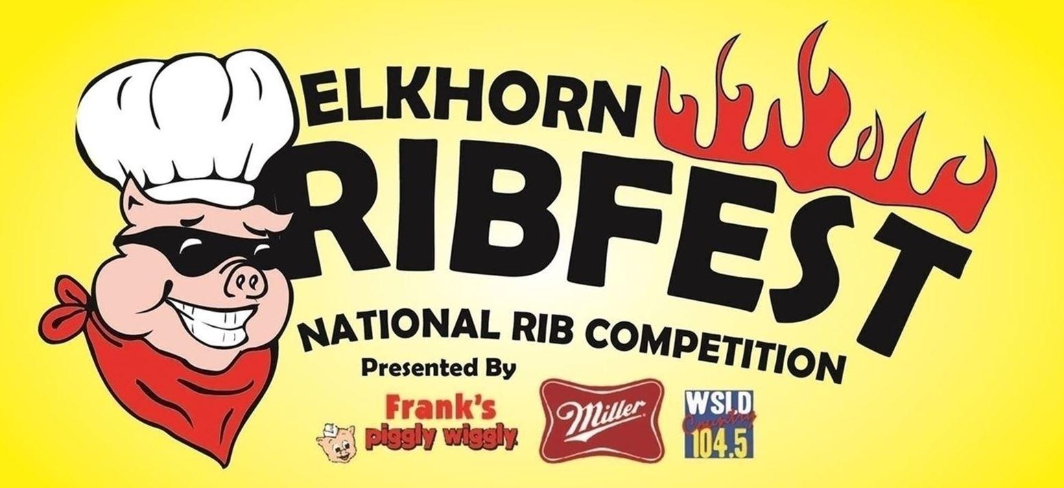 Elkhorn Ribfest logo