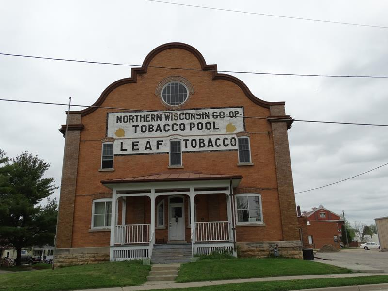 Northern Wisconsin Co-op Tobacco Pool Warehouse