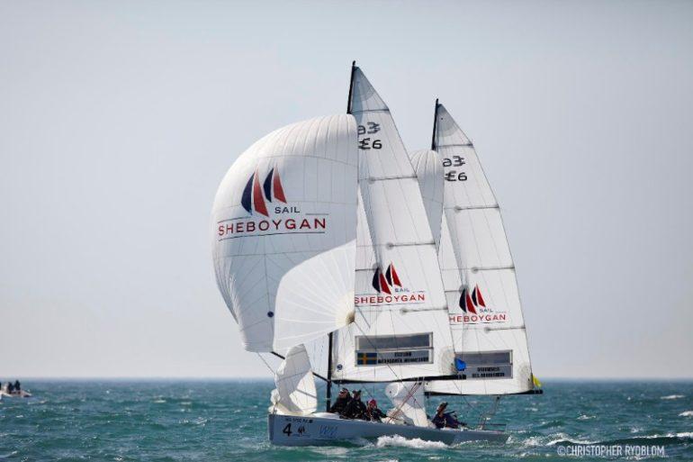 Sheboygan sailing. Photo by Christopher Rydblom.